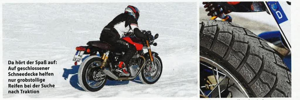 Motorcycle winter tyres UK