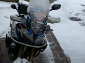 motorcycle winter tyres africa twin
